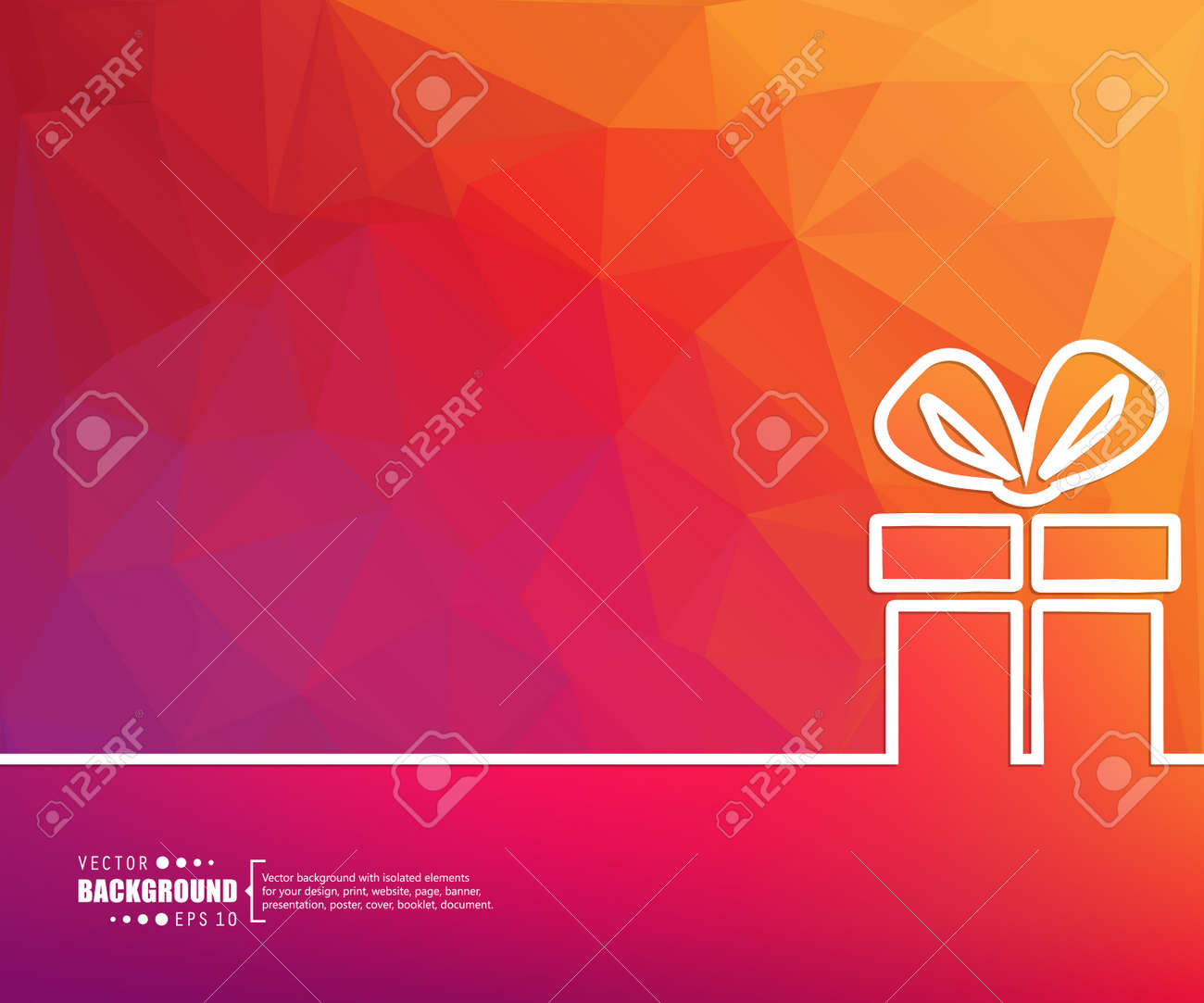 Abstract Creative concept vector background for Web and Mobile Applications, Illustration template design, business infographic, page, brochure, banner, presentation, poster, cover, booklet, document. - 44702725