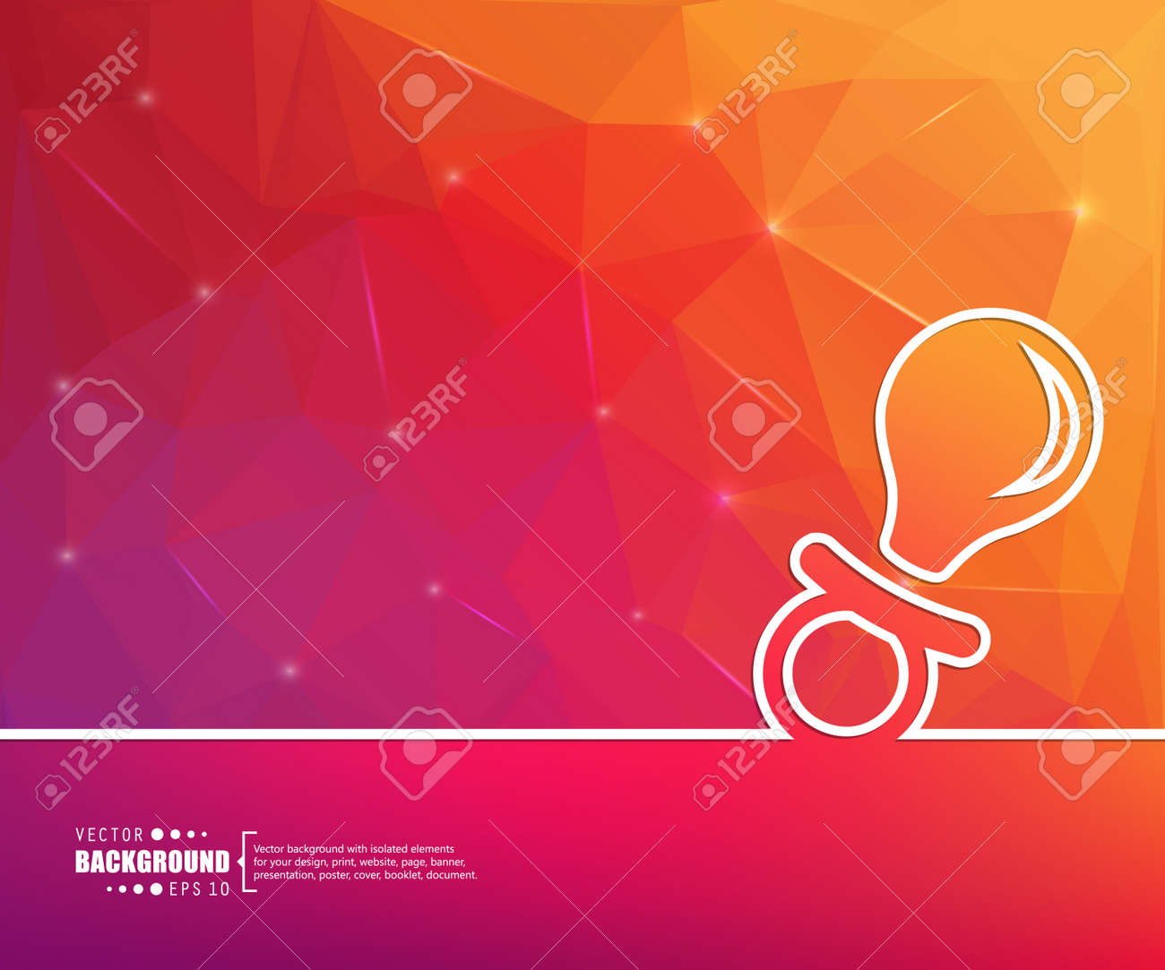Abstract Vector Background For Web And Mobile Applications