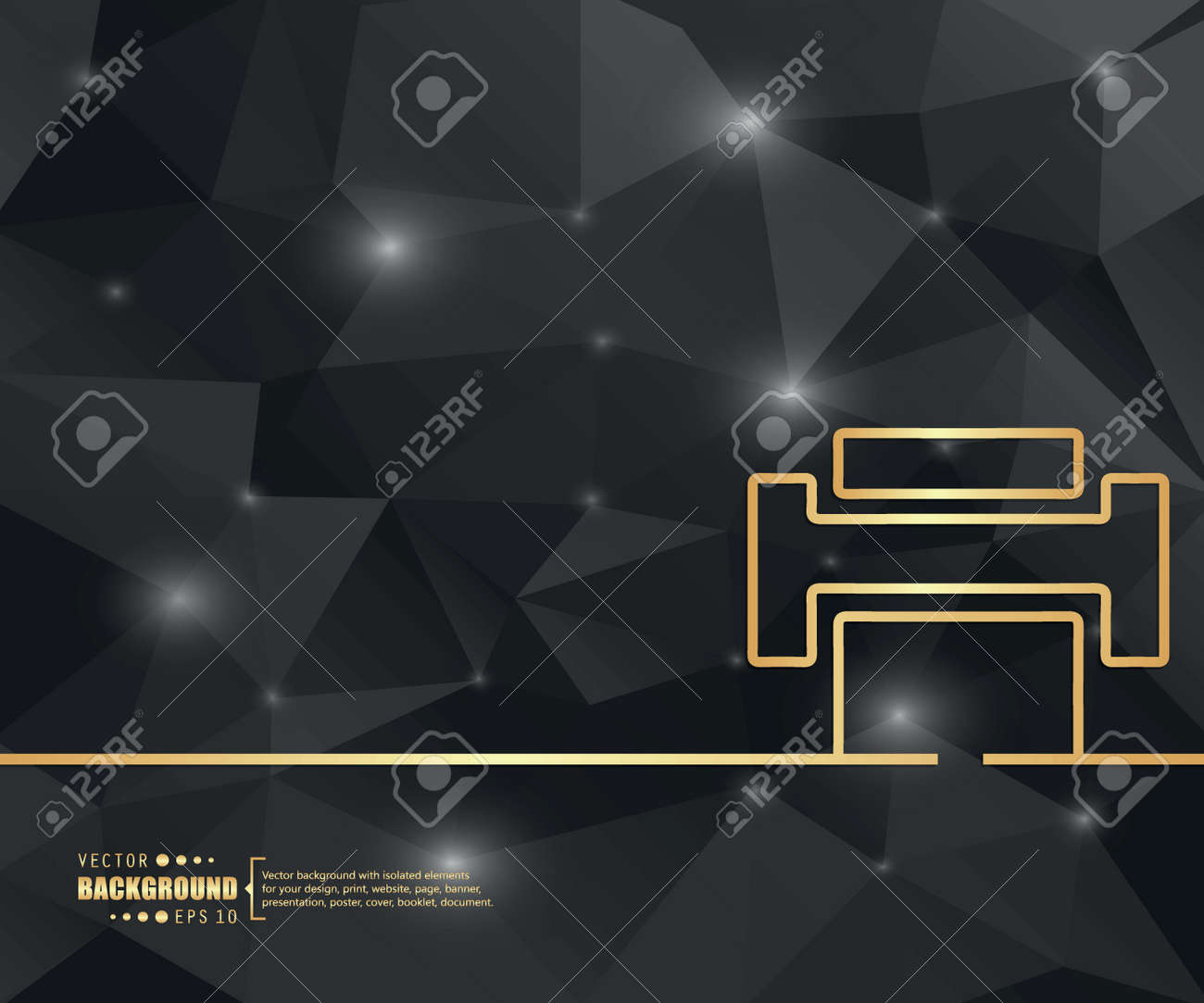 Zusammenfassung Kreative Konzept Vektor Hintergrund Für Web Und ...