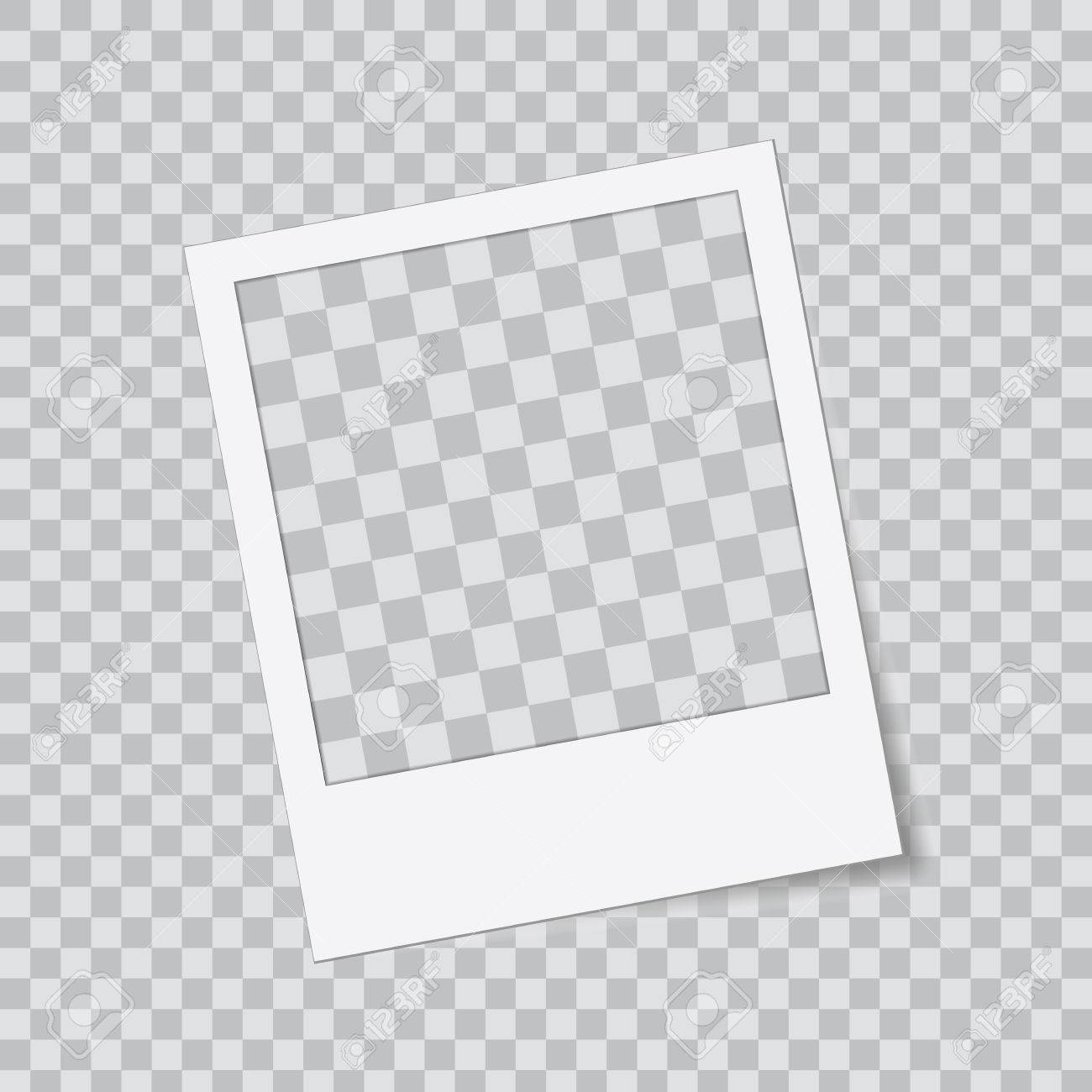 Abstract Vector Creative Photo Frame. For Web And Mobile App ...
