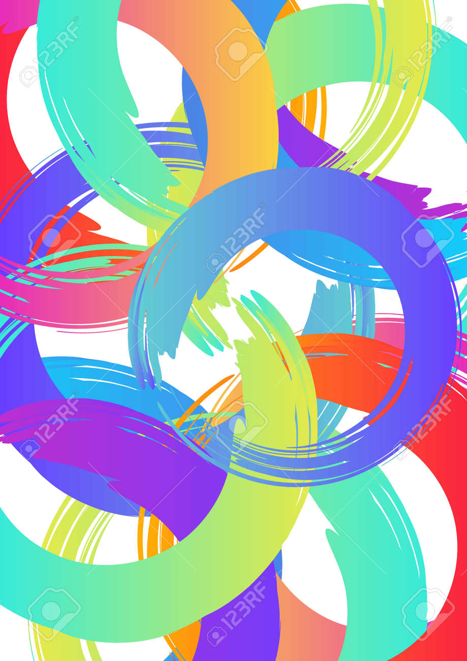Zusammenfassung Vektor-Layout Hintergrund. Für Kunst Template-Design ...