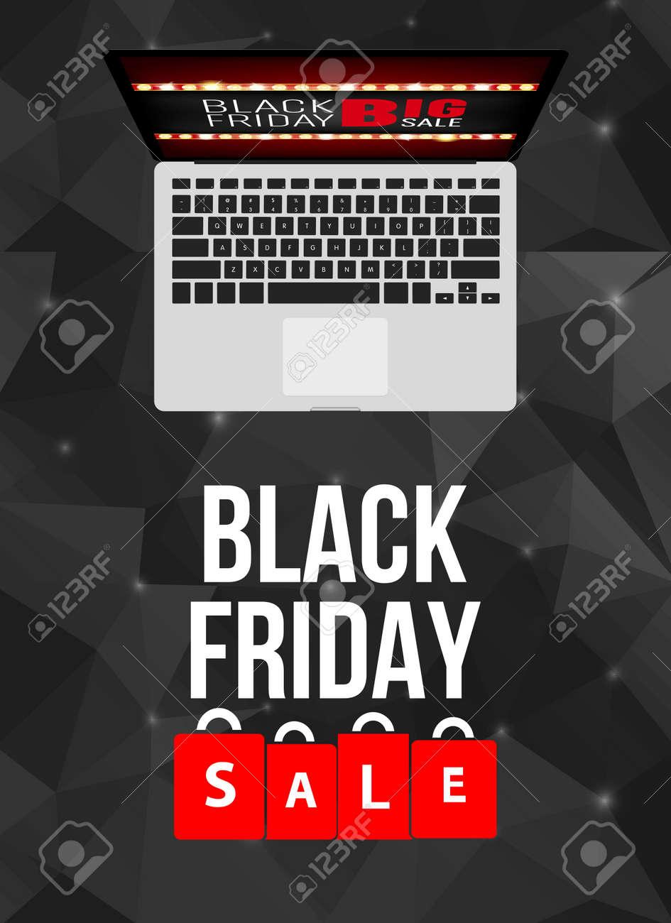 Abstract Vector Black Friday Verkauf Layout Hintergrund. Für Kunst ...