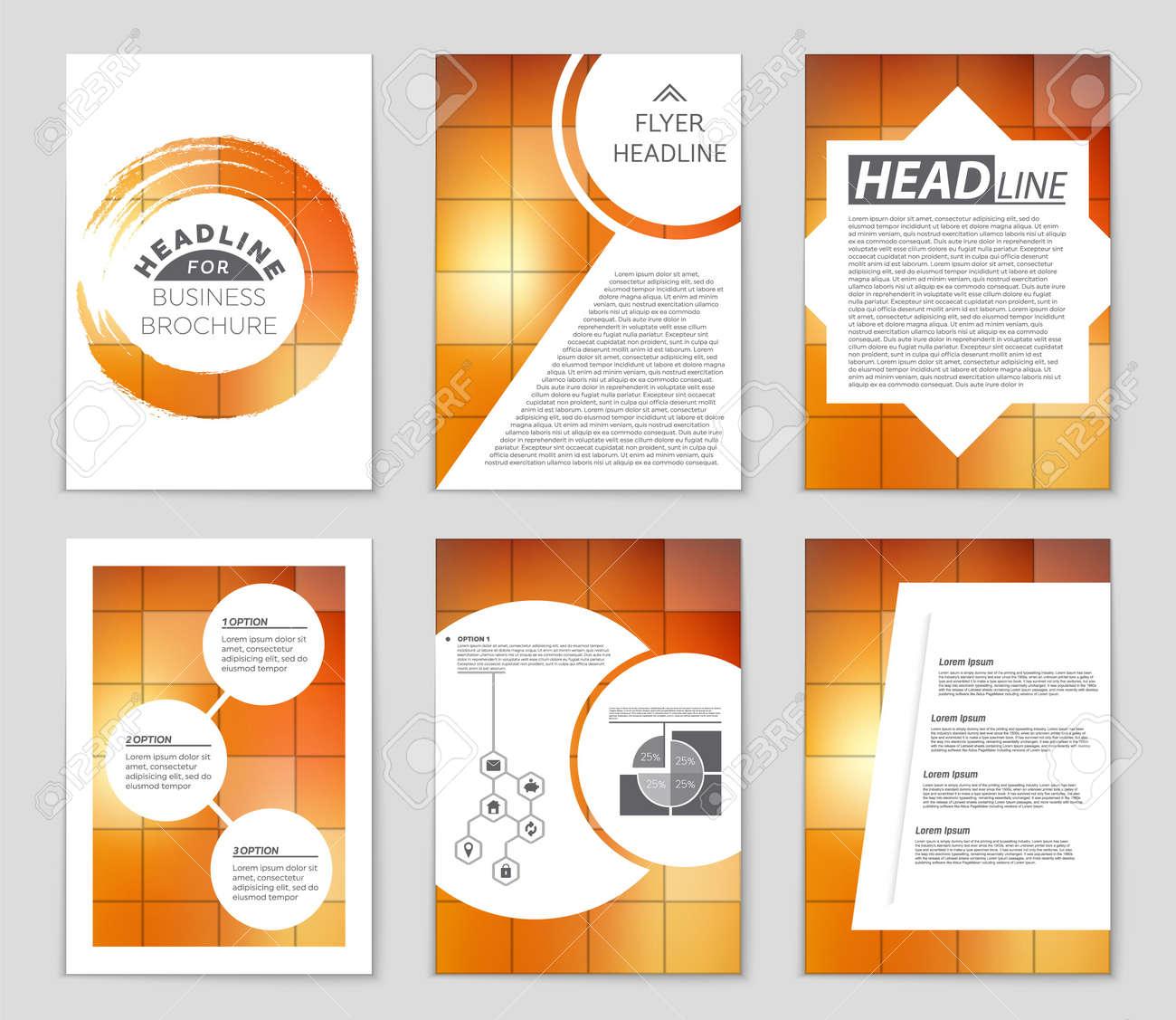 Diverse Design List Front Page Mockup Brochure Theme Style