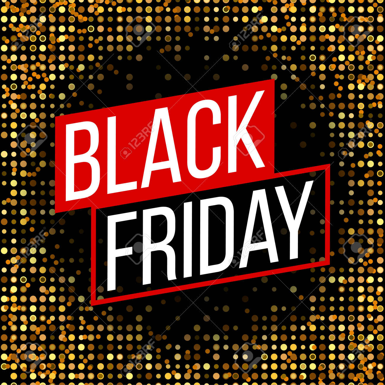 abstract vector black friday sale layout background for art