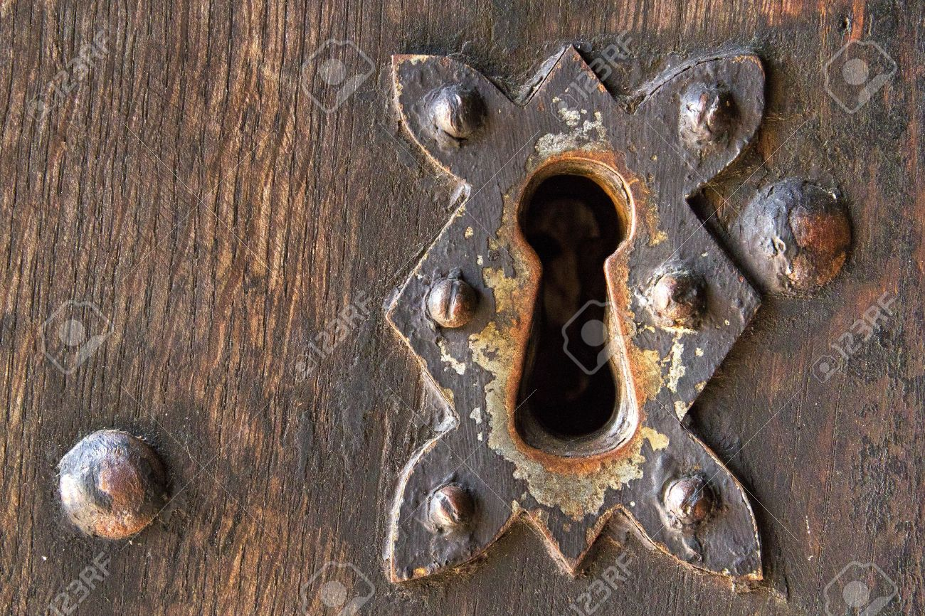 Old Door Lock Stock Photo Picture And Royalty Free Image Image