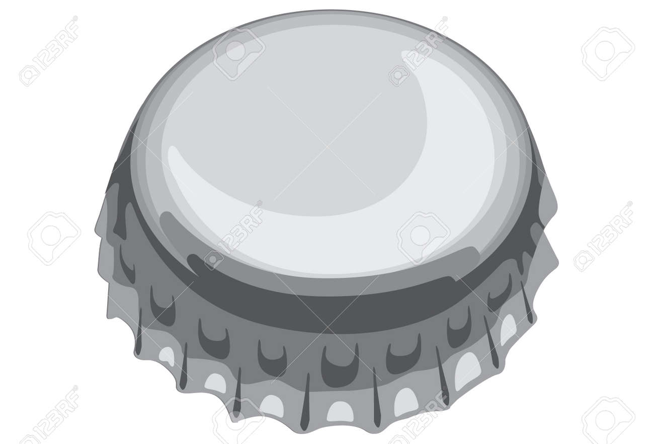 One Of Bottle Cap Royalty Free Cliparts Vectors And Stock Illustration Image 9884147