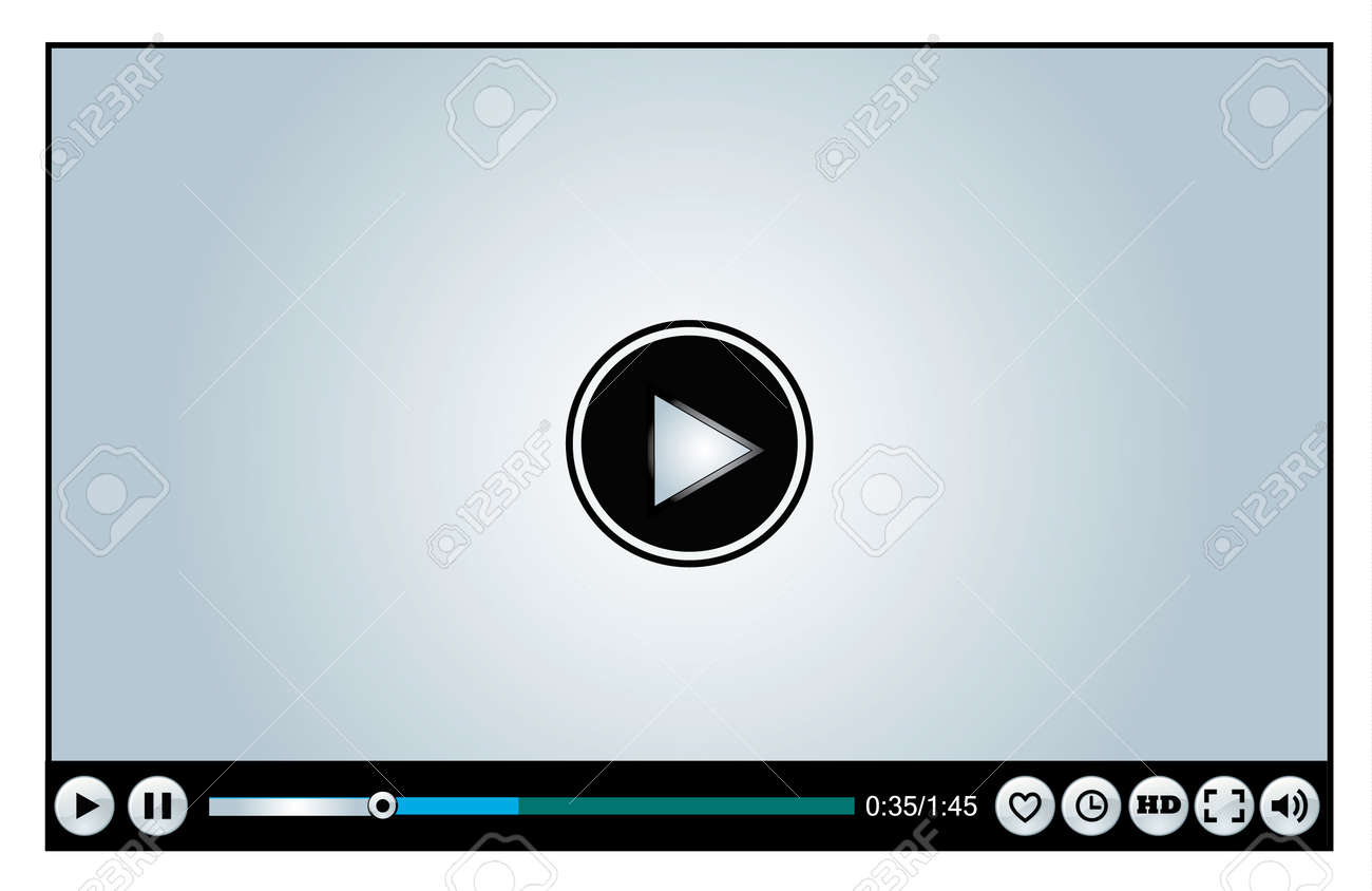 Web Video Player Icon Stock Photo, Picture And Royalty Free Image ...