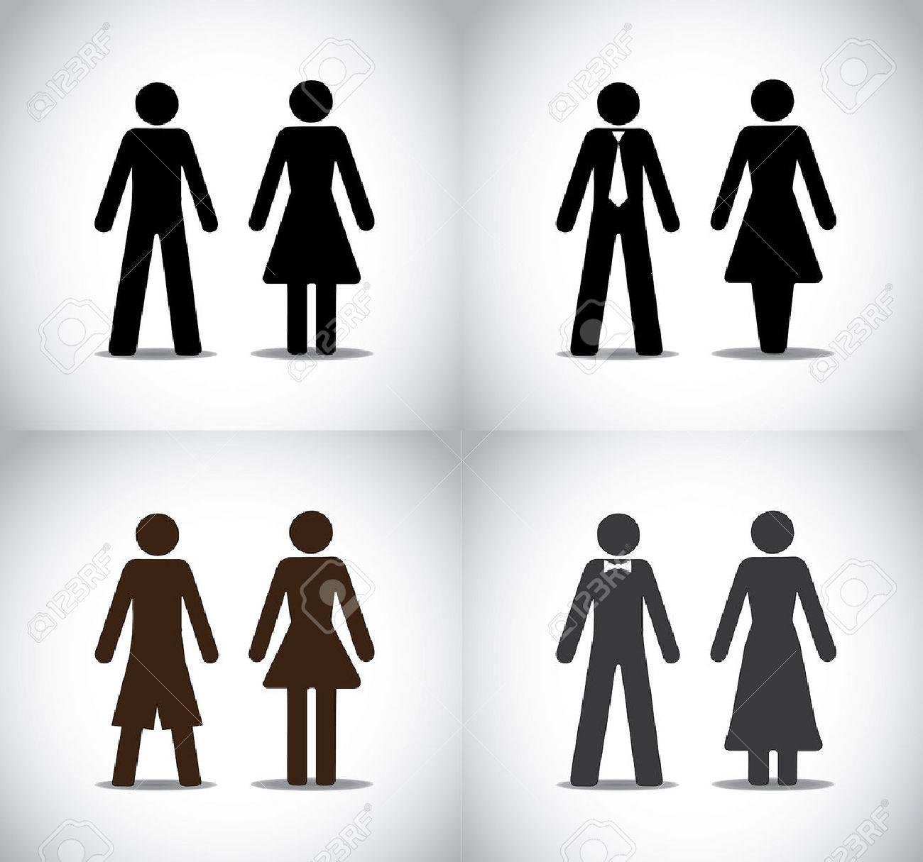 Bathroom Sign Man And Woman symbols girl | carpetcleaningvirginia