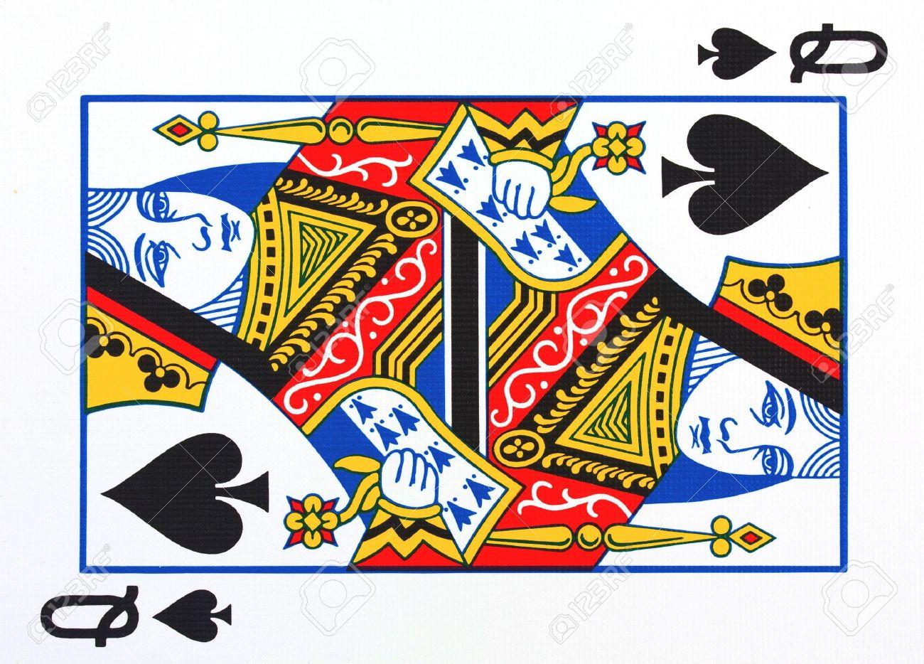 Queen of spades pictures