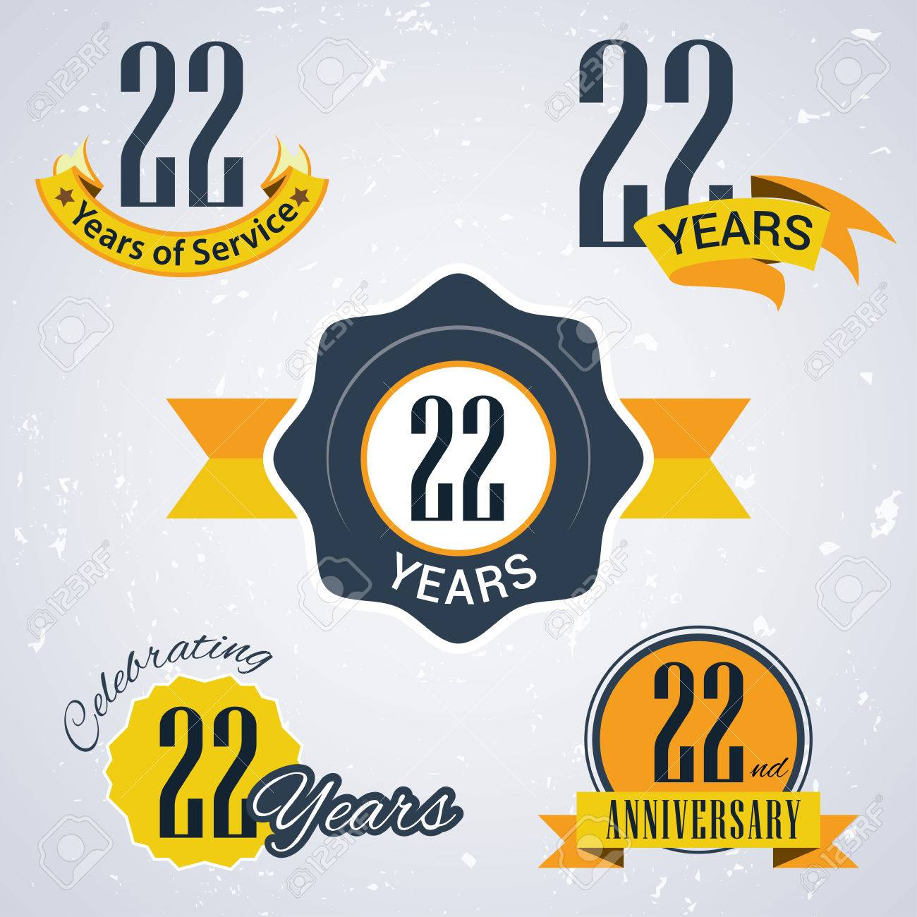 22 years of service 22 years celebrating 22 years 22nd royalty