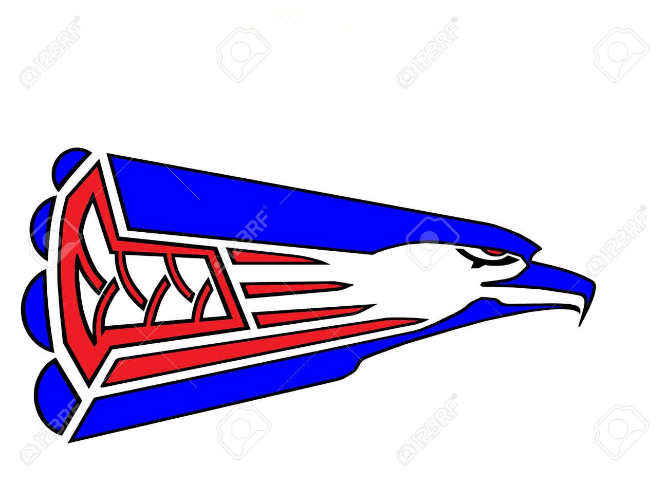 Eagle Logo Red Eagle Designlogo With Red