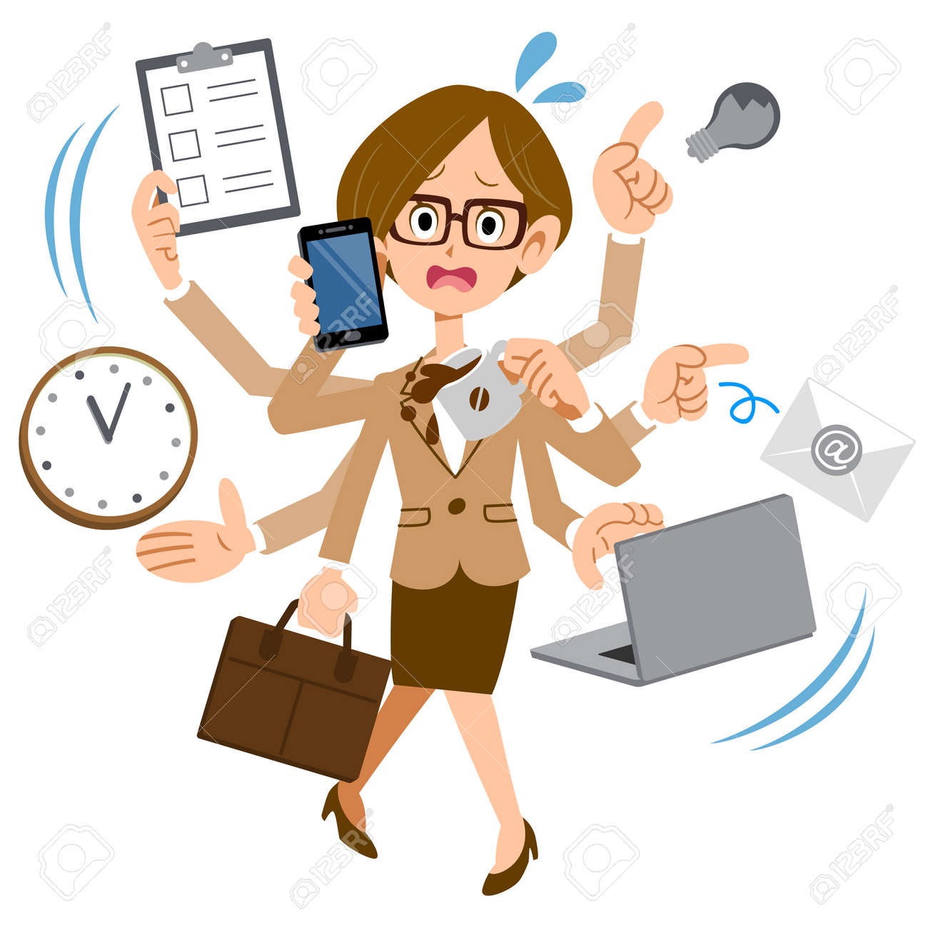 7 042 busy woman cliparts stock vector and royalty free busy woman rh 123rf com
