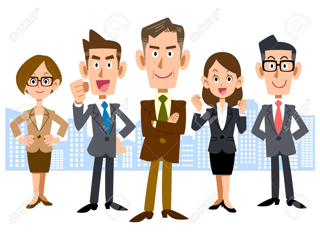 Business Center and executive team - 43844225