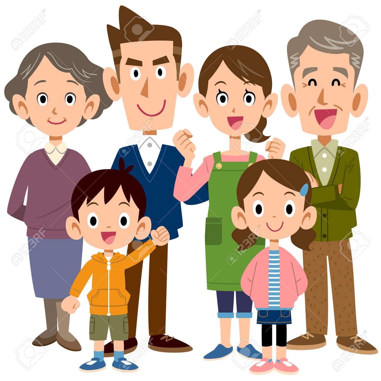 6 person family - 55045793