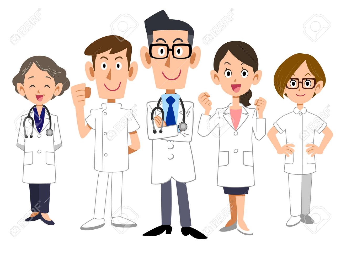 Doctors team - 72868646