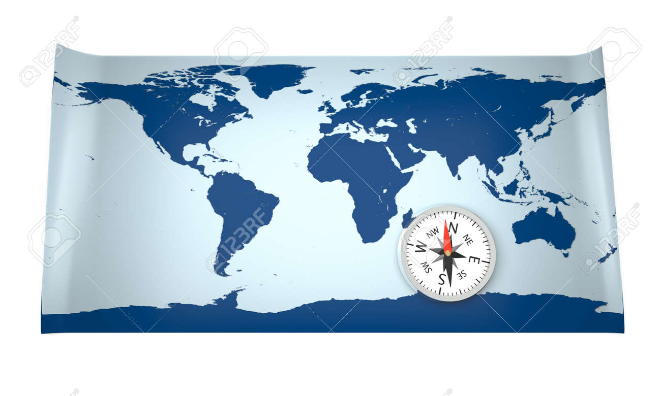 3d model of world map with compass world map provided by 3d model of world map with compass world map provided by visibleearthsa gumiabroncs Images