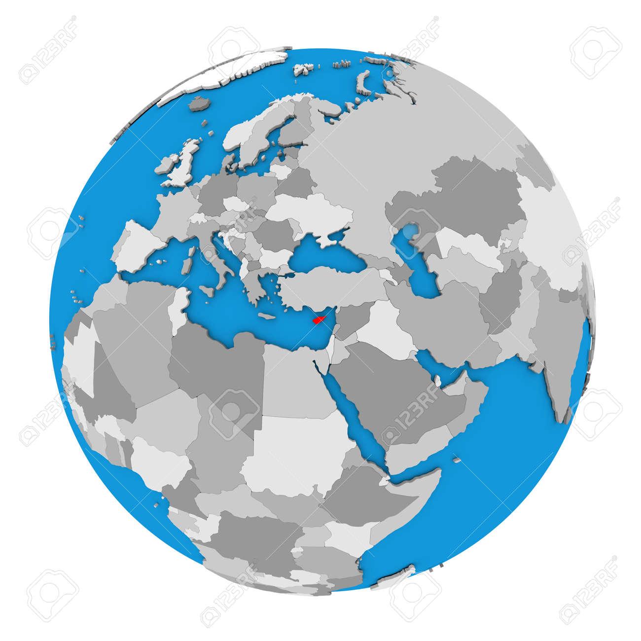 Globus Weltkugel Karte.Stock Photo