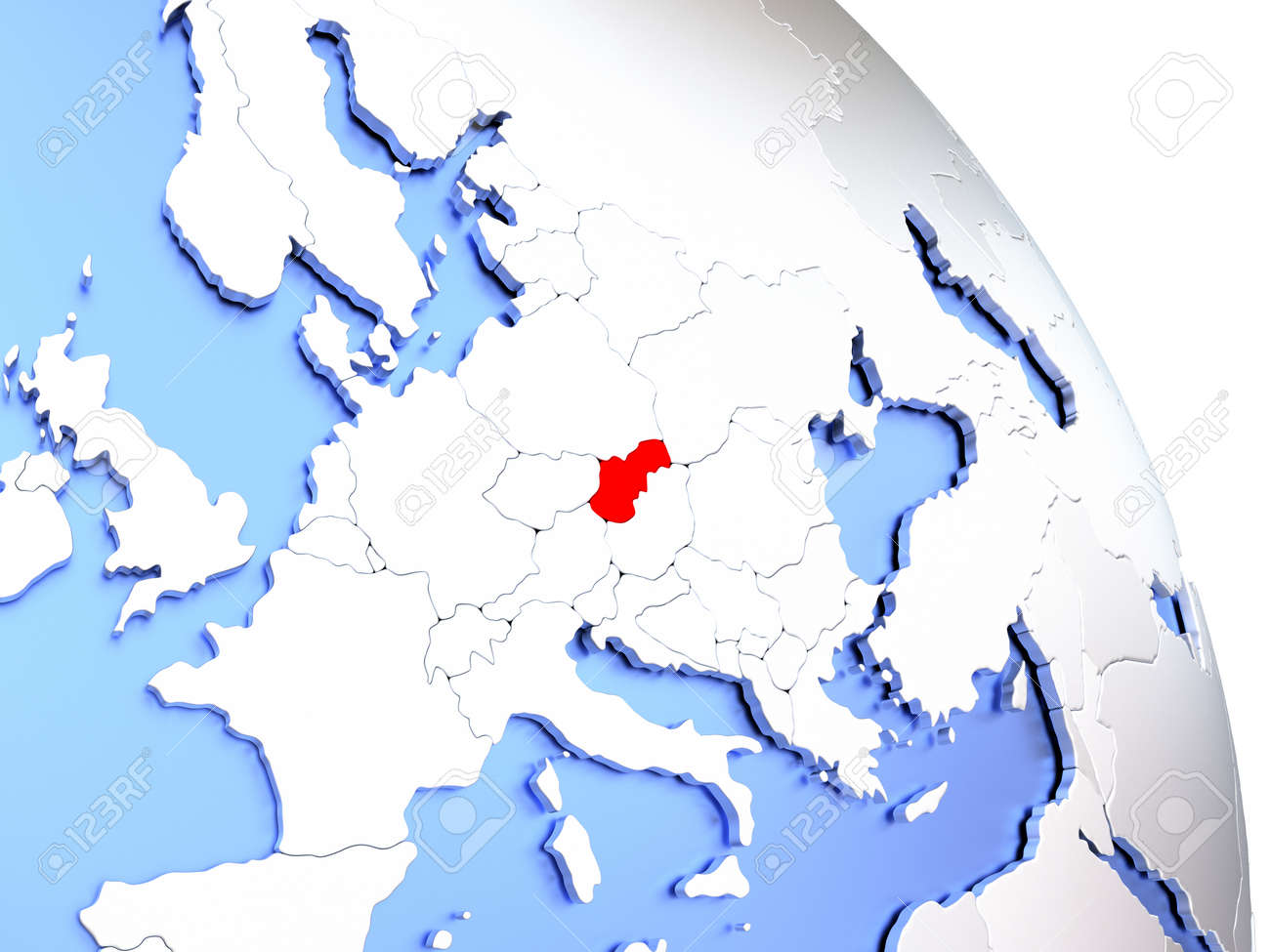 Picture of: Map Of Slovakia On Elegant Shiny Globe 3d Illustration Stock Photo Picture And Royalty Free Image Image 73818550