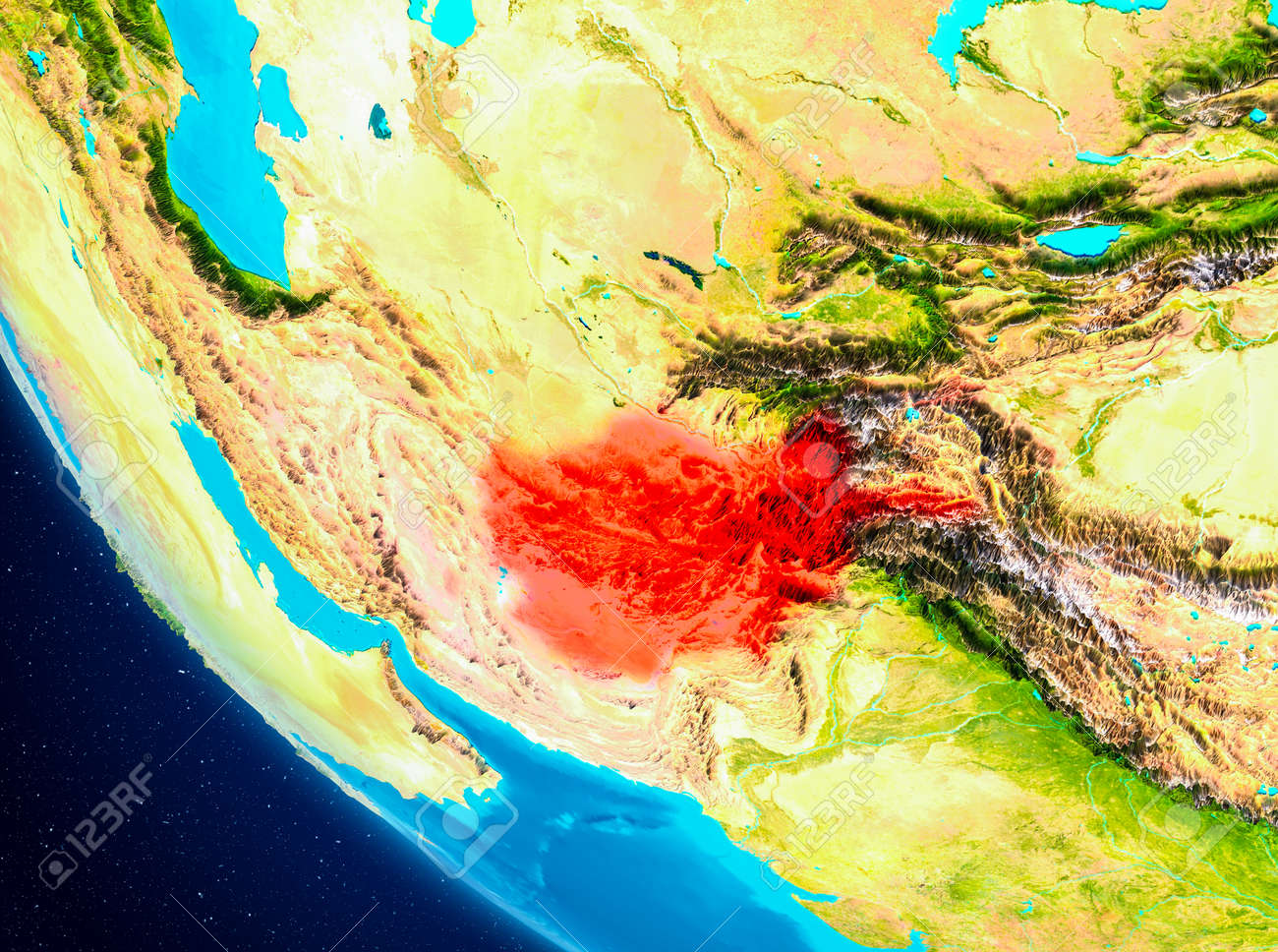 Afghanistan highlighted in red on planet earth 3d illustration afghanistan highlighted in red on planet earth 3d illustration stock illustration 93220910 gumiabroncs Image collections