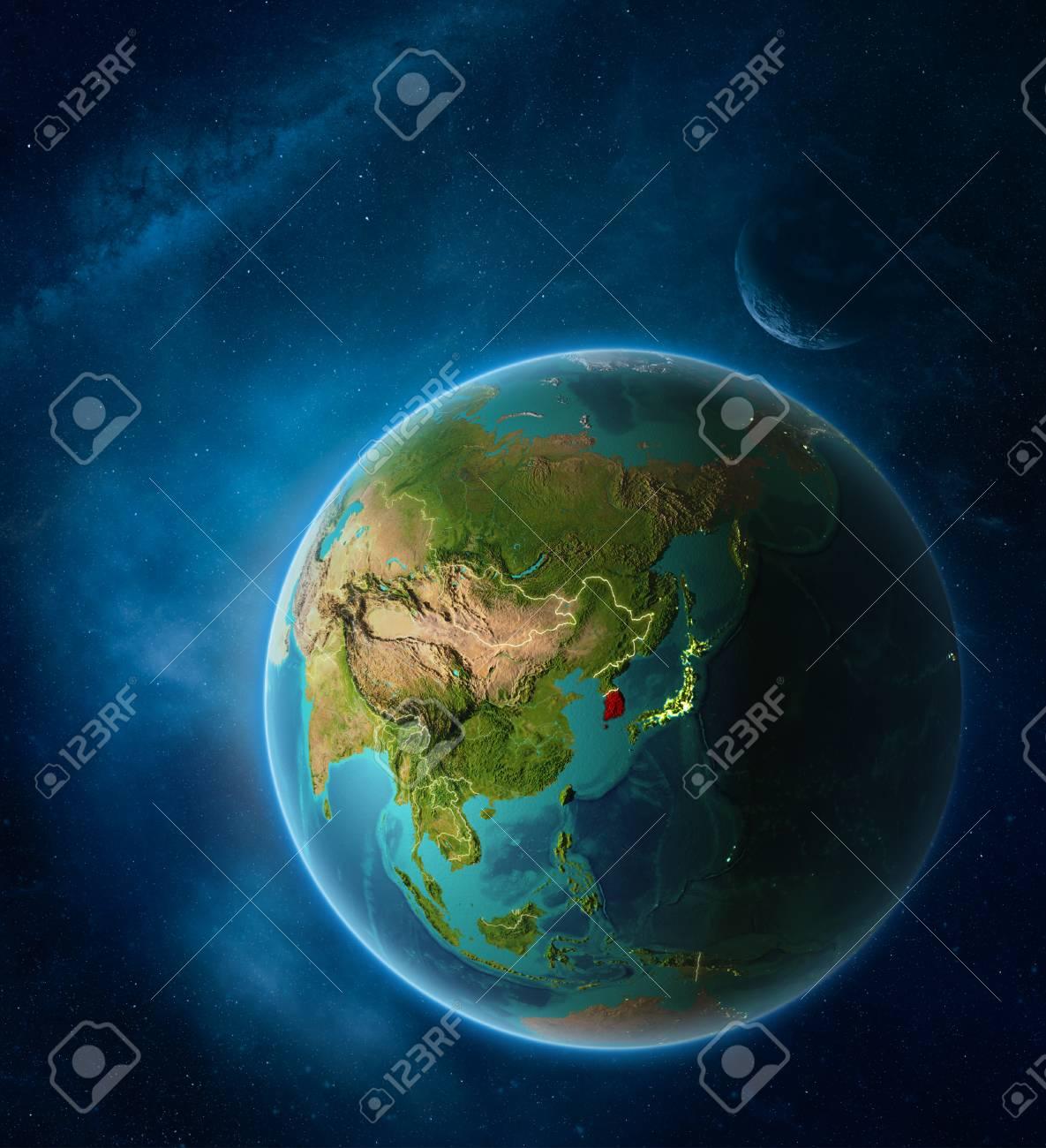 Stock Illustration on korea satellite night time, korea world of lights, germany light map, usa light map, global light map, africa light map, afghanistan light map, indonesia light map, pakistan light map, korea at night, malawi light map,