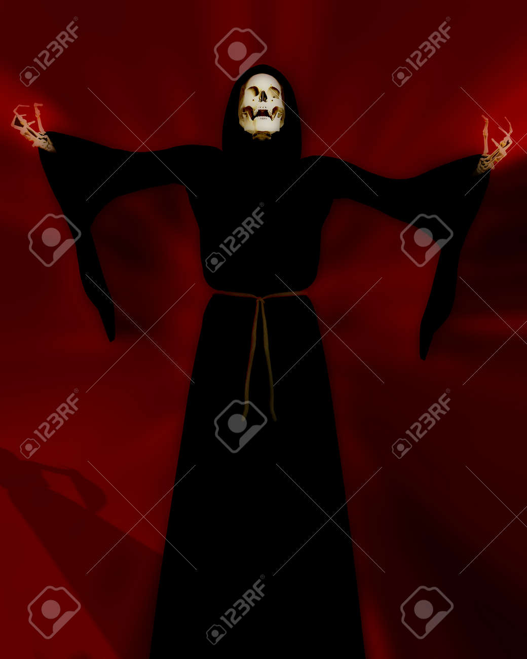An image of the grim reaper or death as he is more commonly called. Stock Photo - 1478110