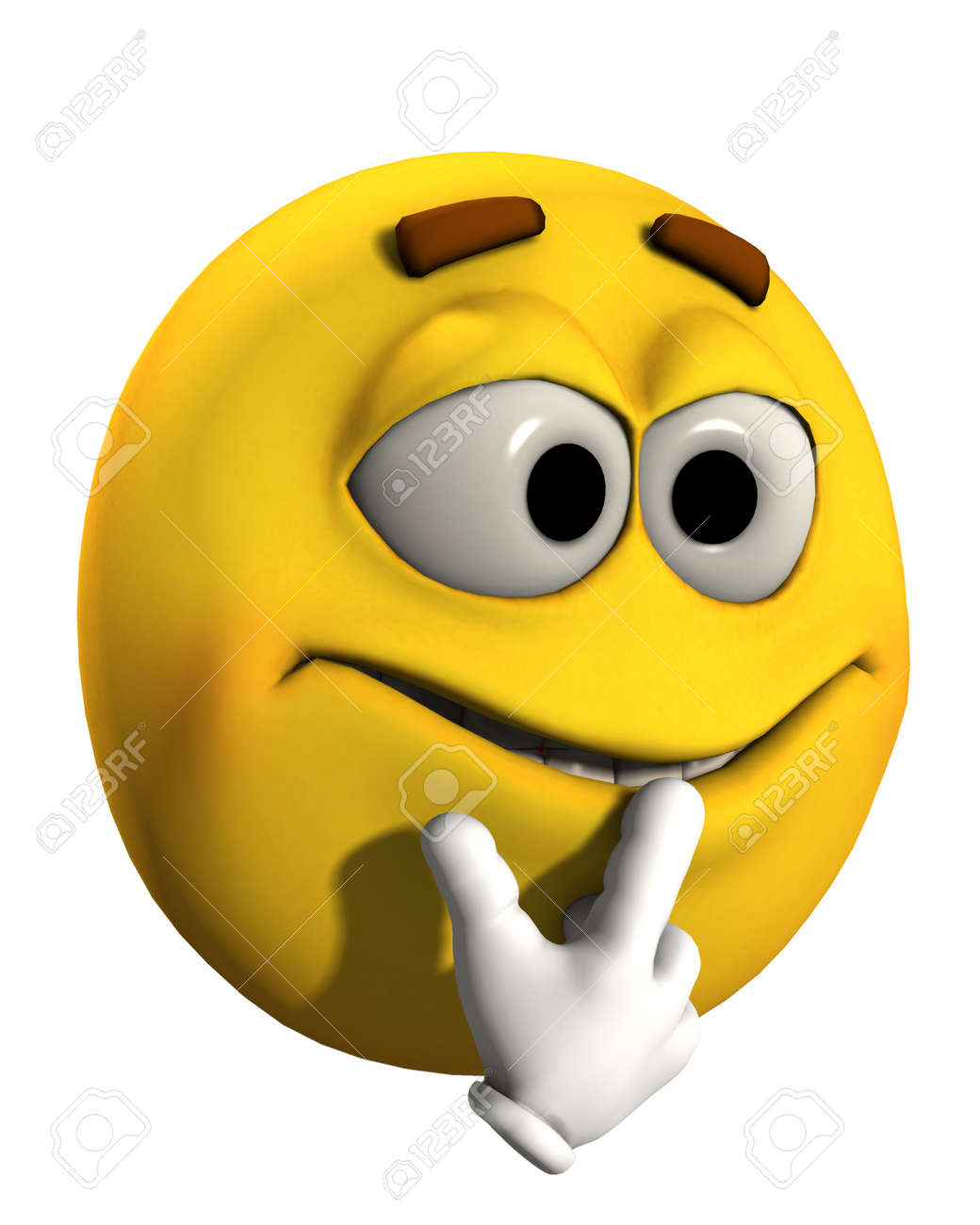 a conceptual image of a very puzzled and confused cartoon face rh 123rf com confused cartoon face image Funny Confused Cartoon