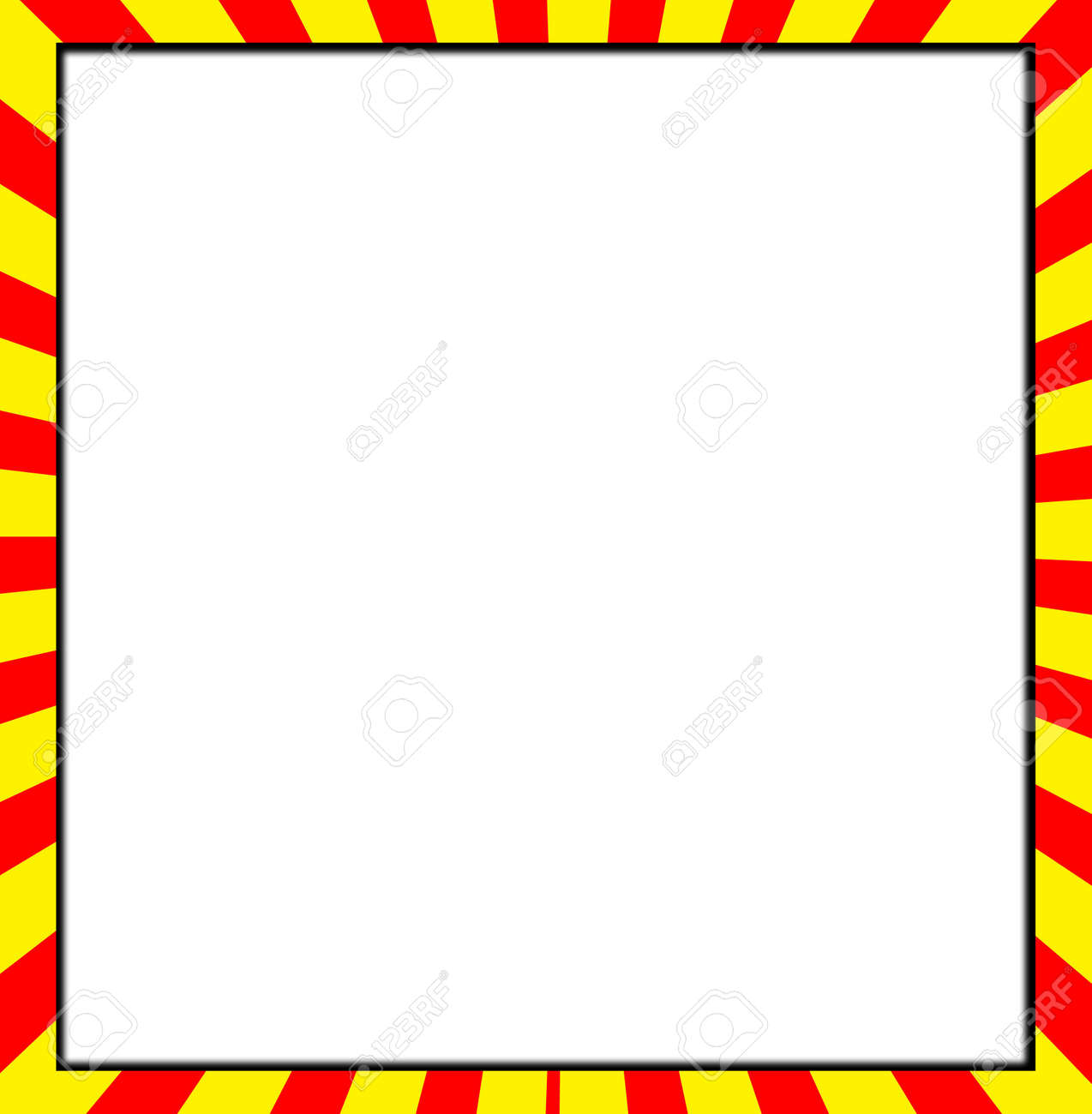 blank customisable white space with a colour frame stock photo 4778785 - Blank Pictures To Colour