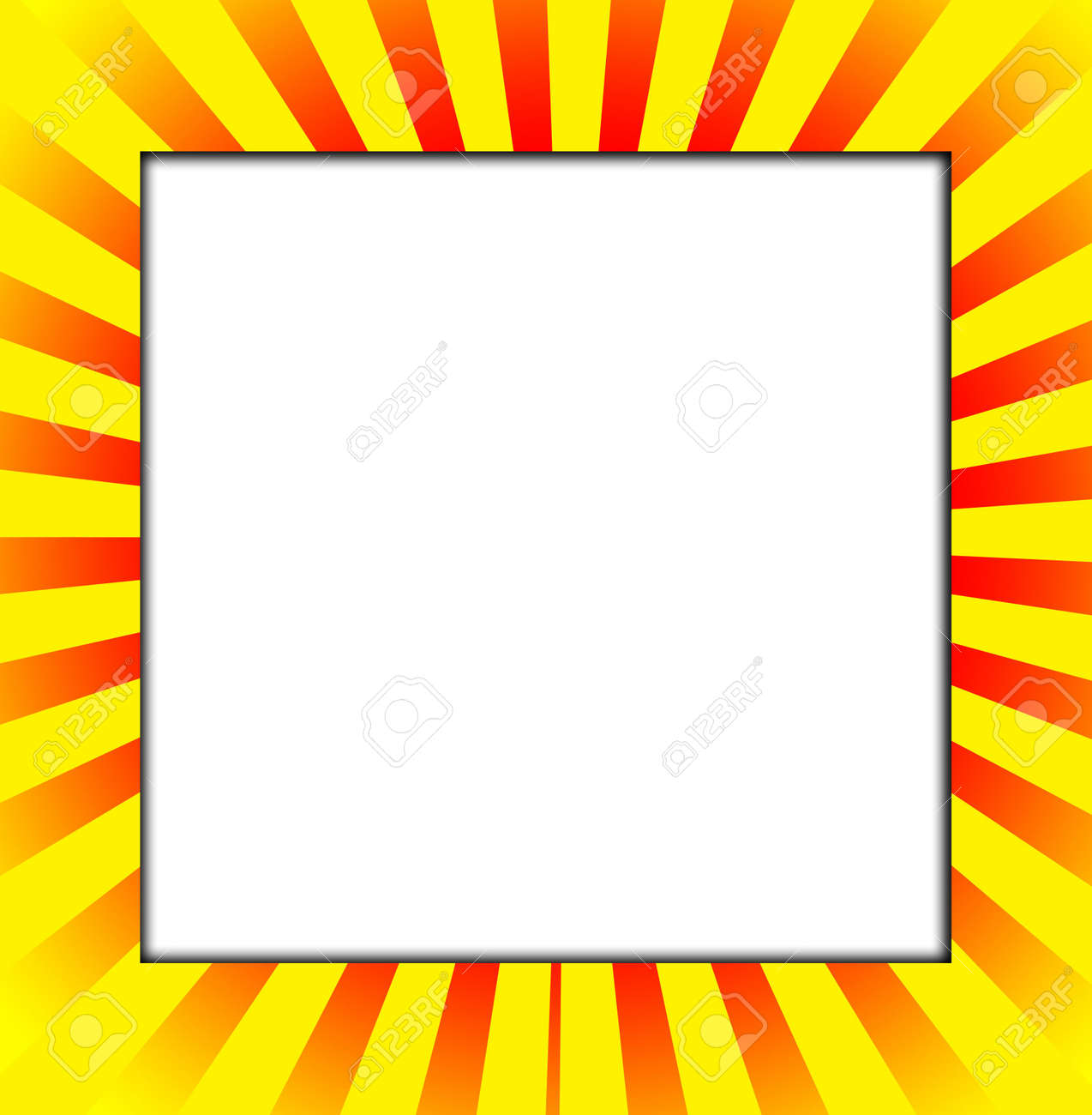 blank customisable white space with a colour frame stock photo 4778773