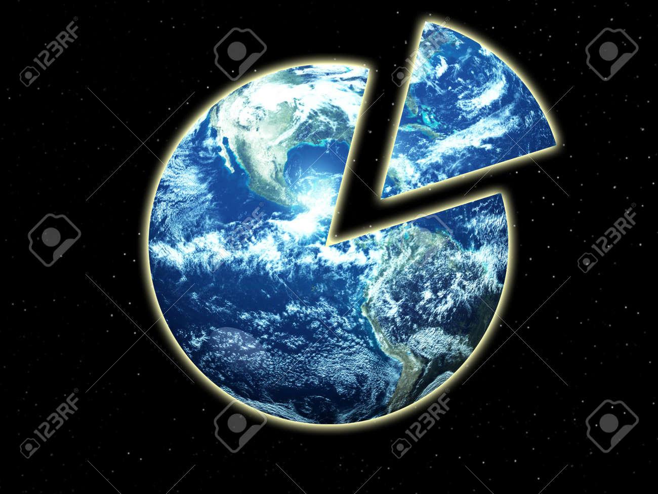 Image representing global inequality Stock Photo - 4956416