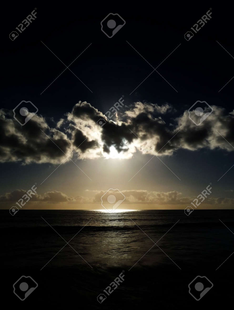 The sunset as seen from Maspalomas beach. Stock Photo - 6218587