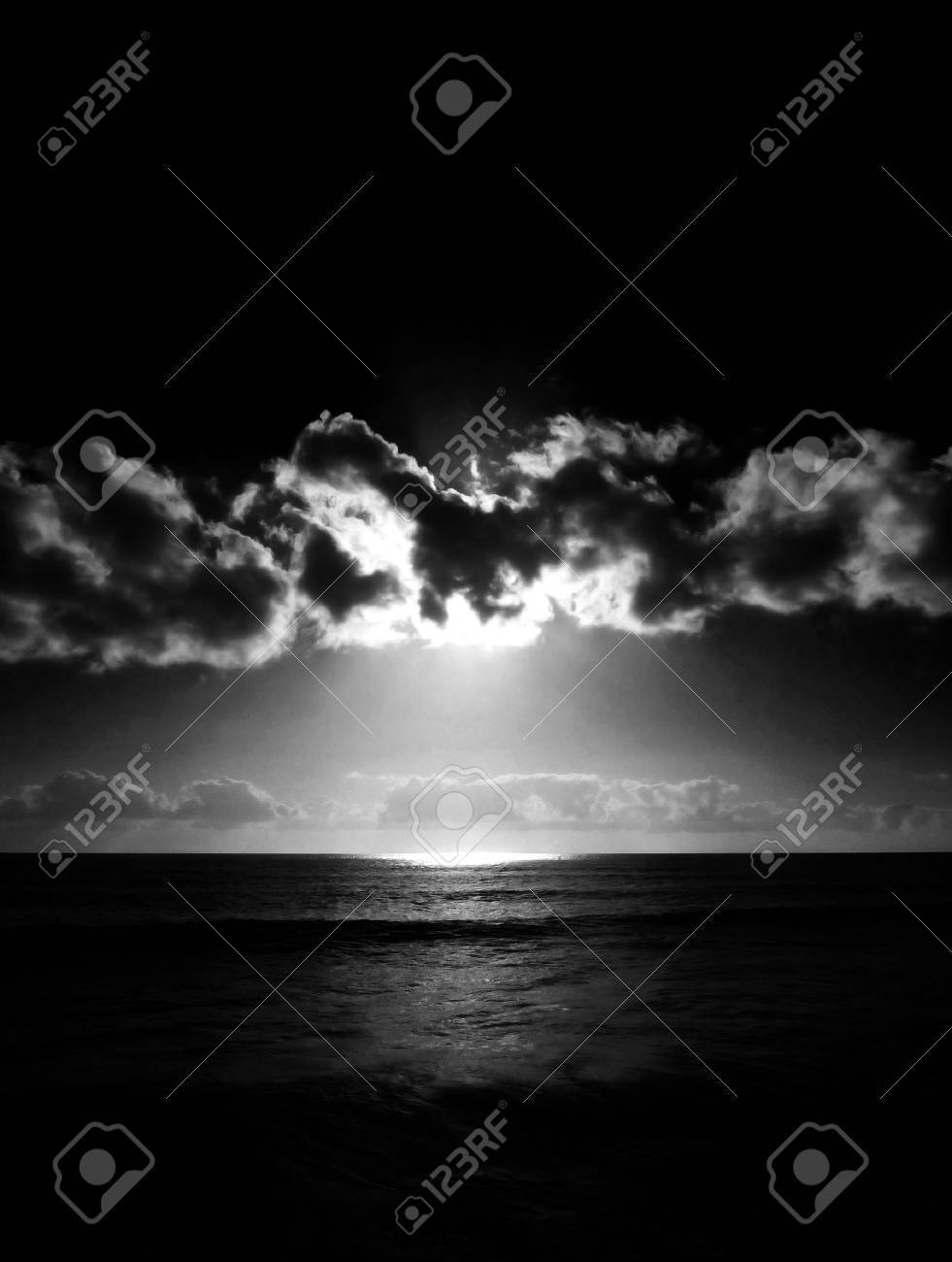 The sunset as seen from Maspalomas beach. Stock Photo - 6218577