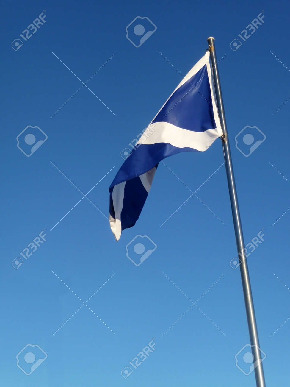 the scottish flag the saint andrew u0027s cross stock photo picture