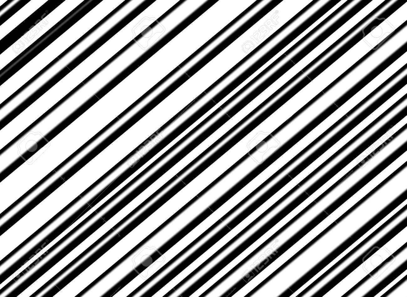 Simple black and white abstract line background stock photo 7495652