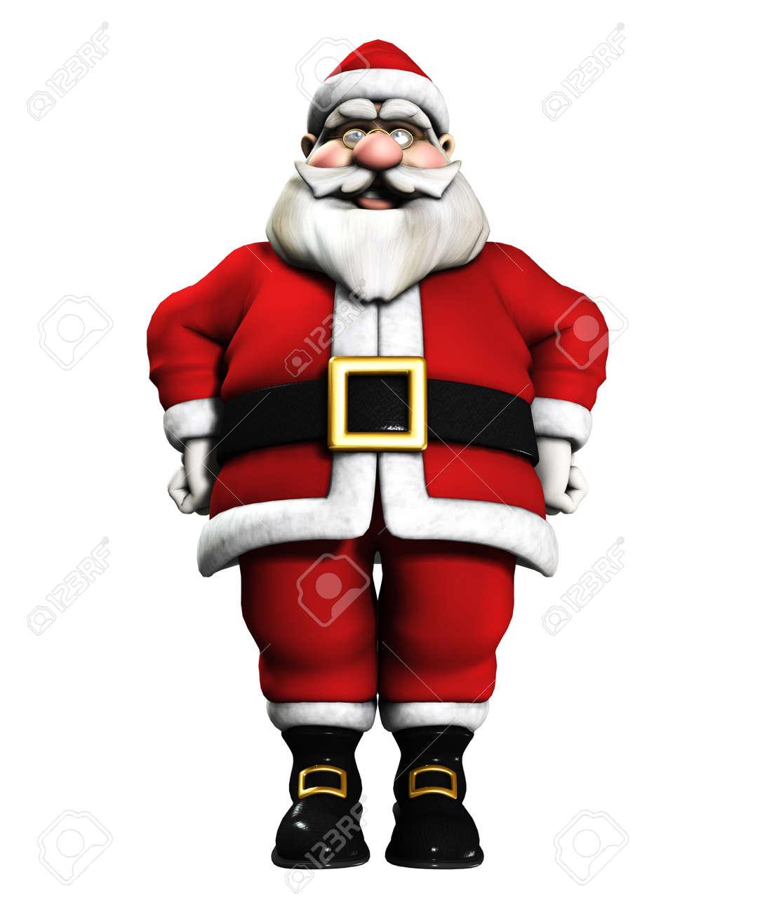Sehr Glücklich Und Fröhlich Father Christmas Für Die Weihnachtszeit ...