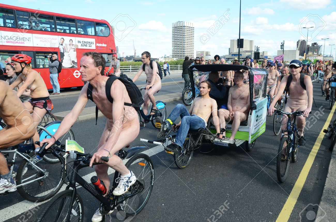 World naked bicycle day