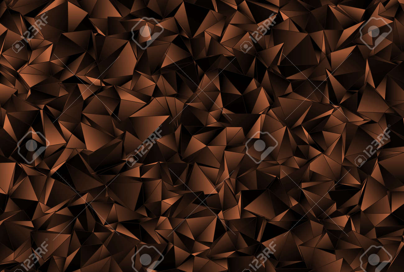 Abstract Background. Mosaic. Triangulated Texture. Design 3d. Polygonal  Geometrical Texture. Triangular