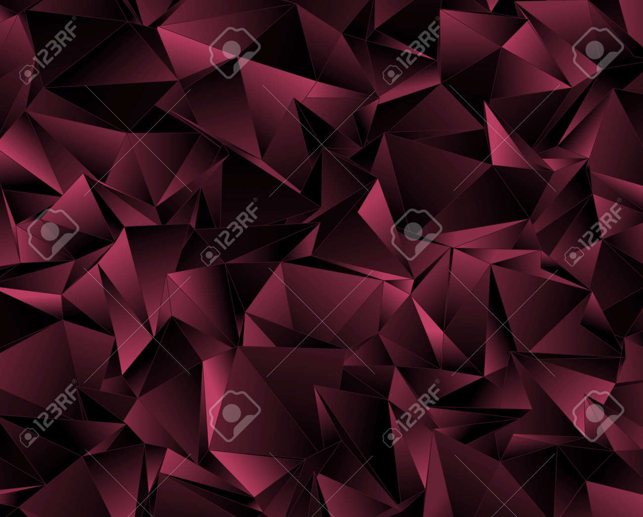 Abstract Mosaic Background. Triangulated Texture. Design 3d. Polygonal  Geometrical Texture. Triangular Style