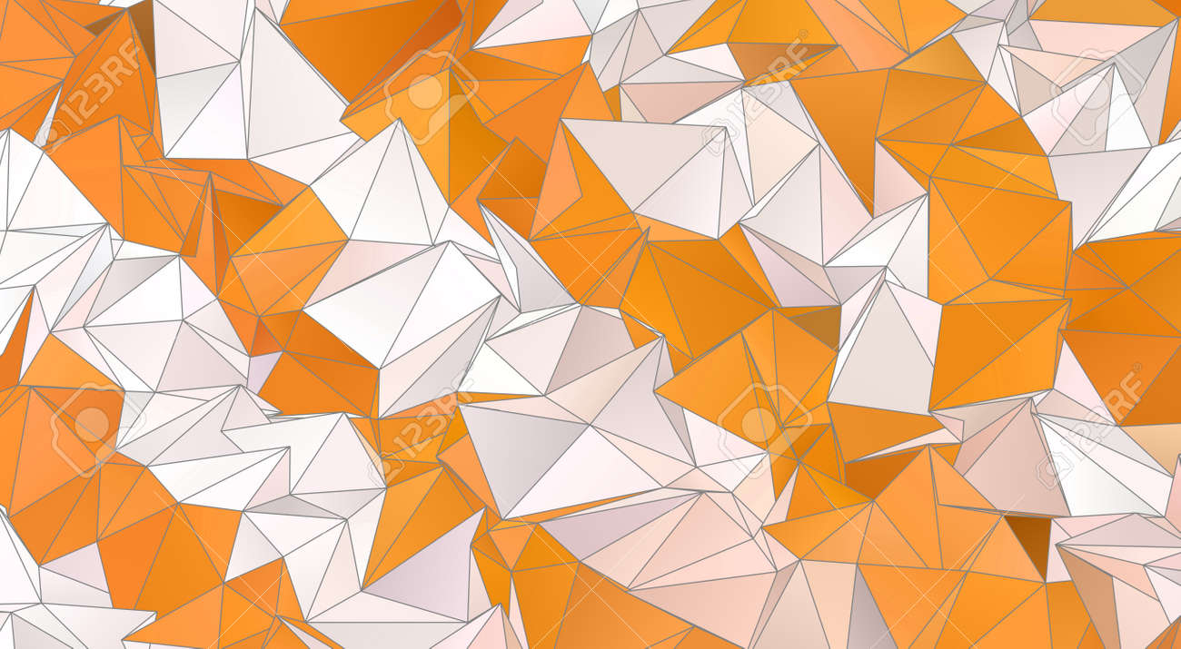 Abstract Low-Poly background. triangulated texture. Design 3d. Polygonal geometrical pattern. Triangular modern style - 152941340