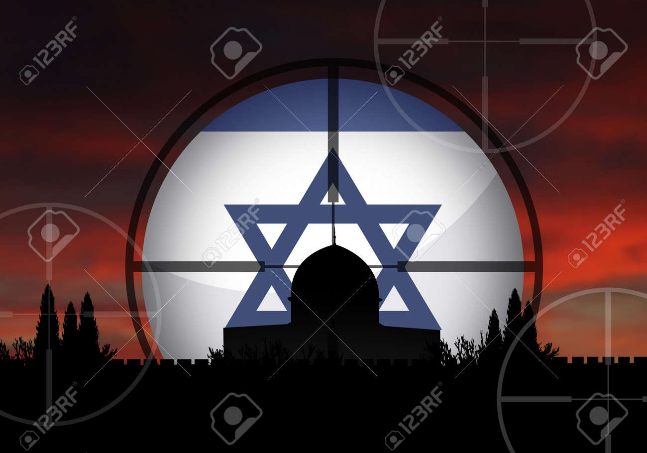 Israel and the dangerous middle east crisis Stock Photo - 4935556