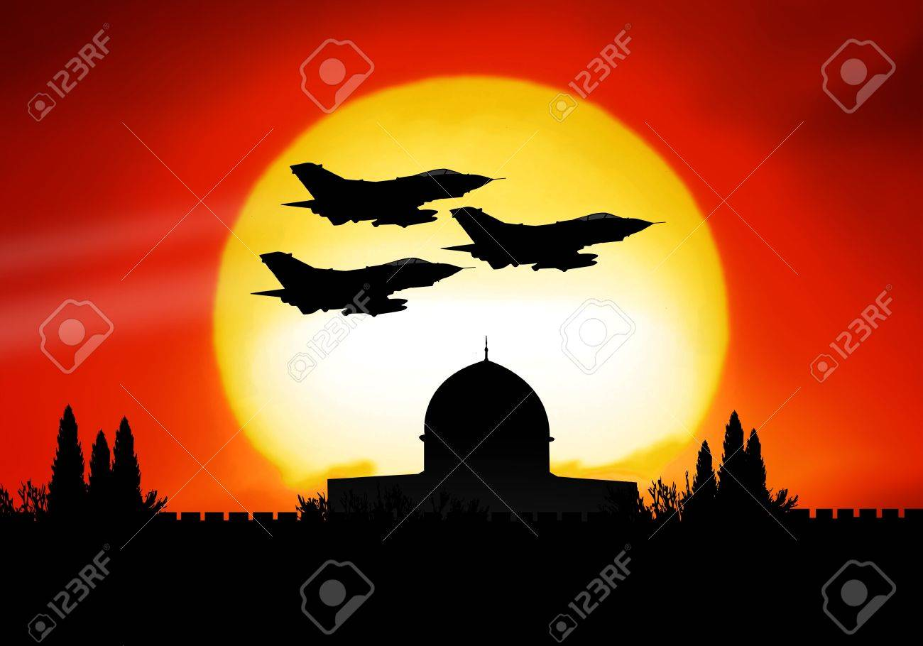 Israel and the dangerous middle east crisis Stock Photo - 4935554