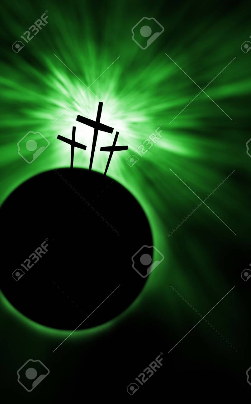 The creation is saved by the Lord Jesus Christ Stock Photo - 4936767