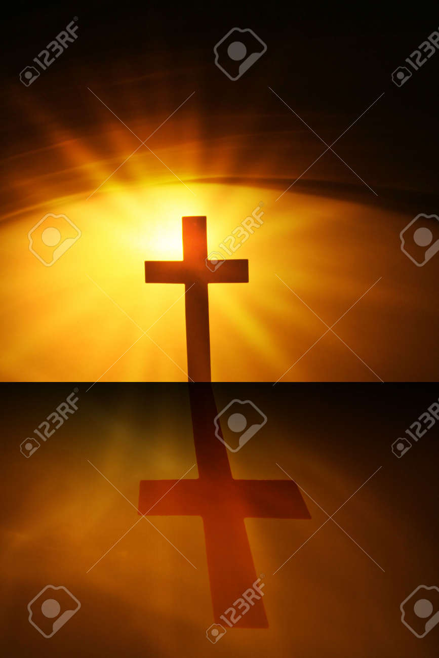 the cross of the lord jesus christ stock photo picture and