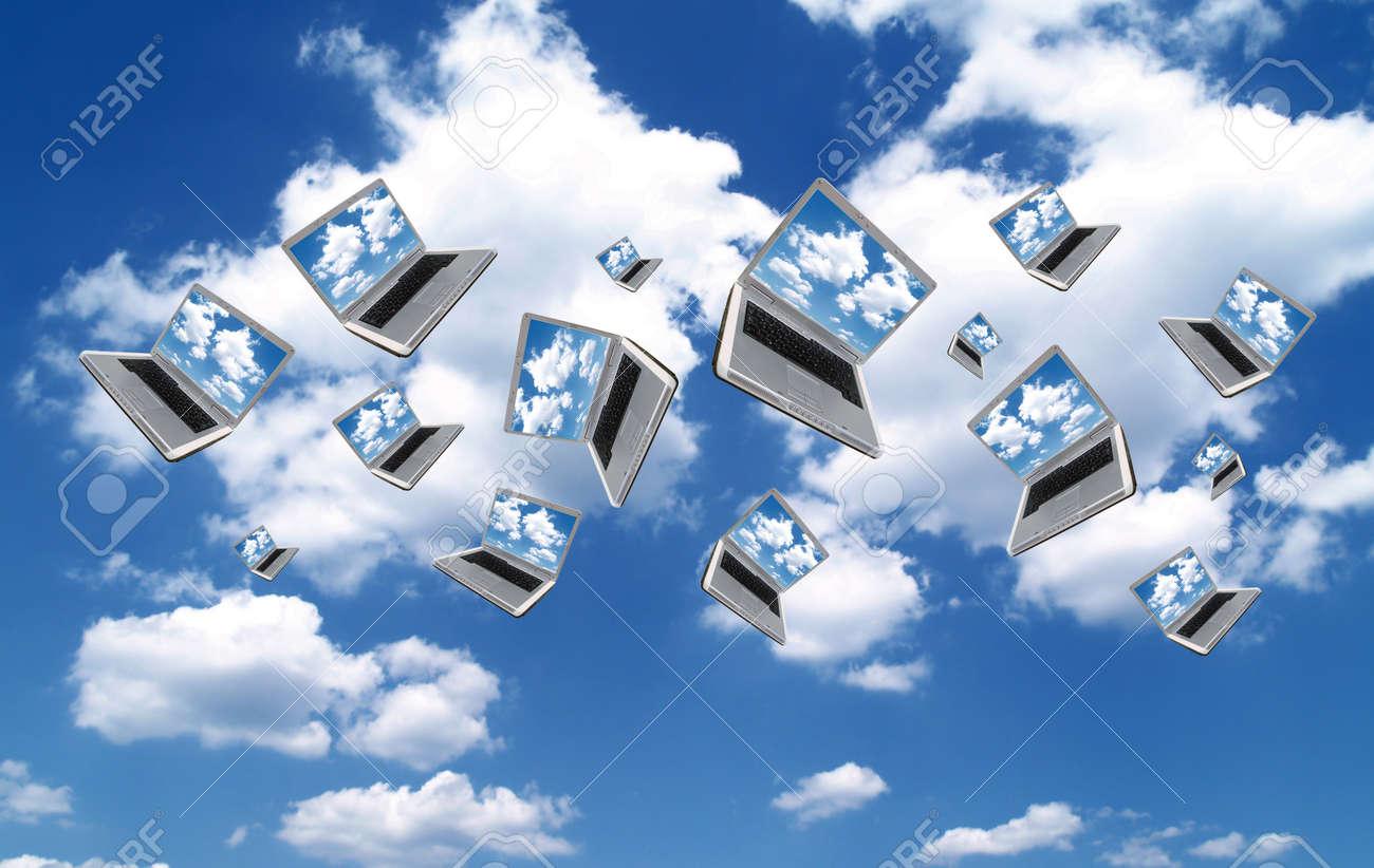 Cloudcomputing Stock Photo - 9960537