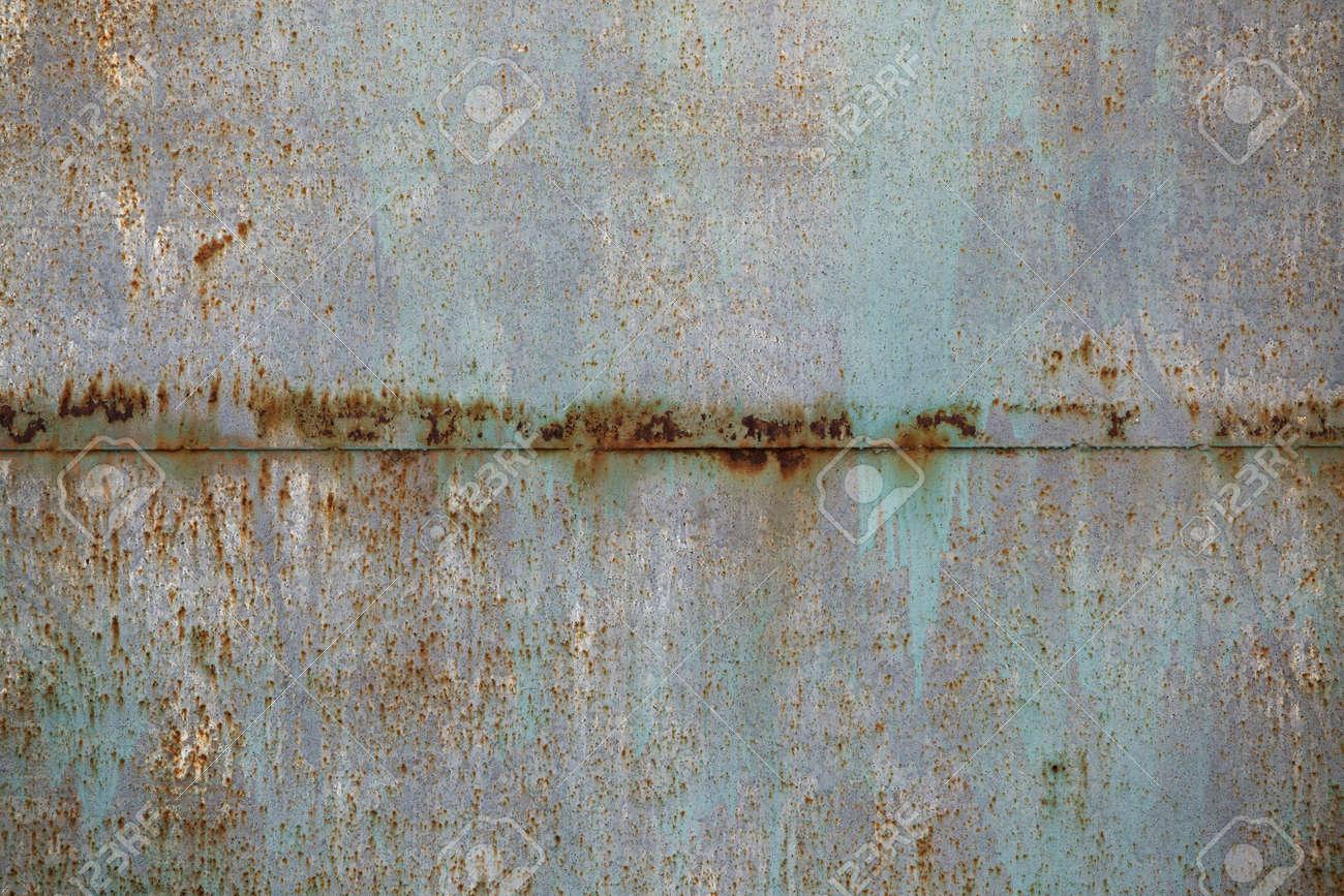 Blech Rost Korrosion Alten Strukturiertes Stück Eisen Für