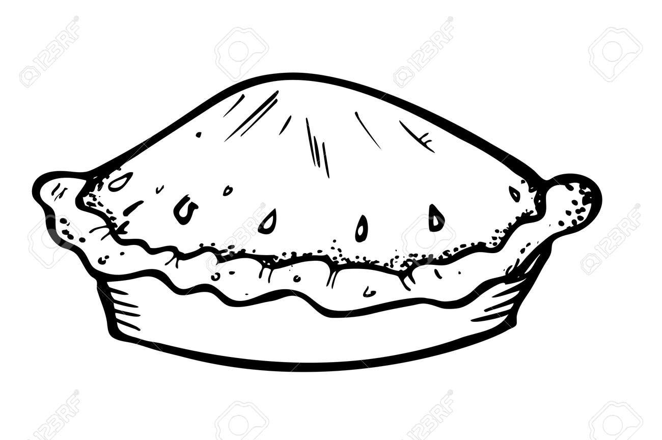 Uncategorized Drawing Of A Pie pie doodle royalty free cliparts vectors and stock illustration vector 13101718