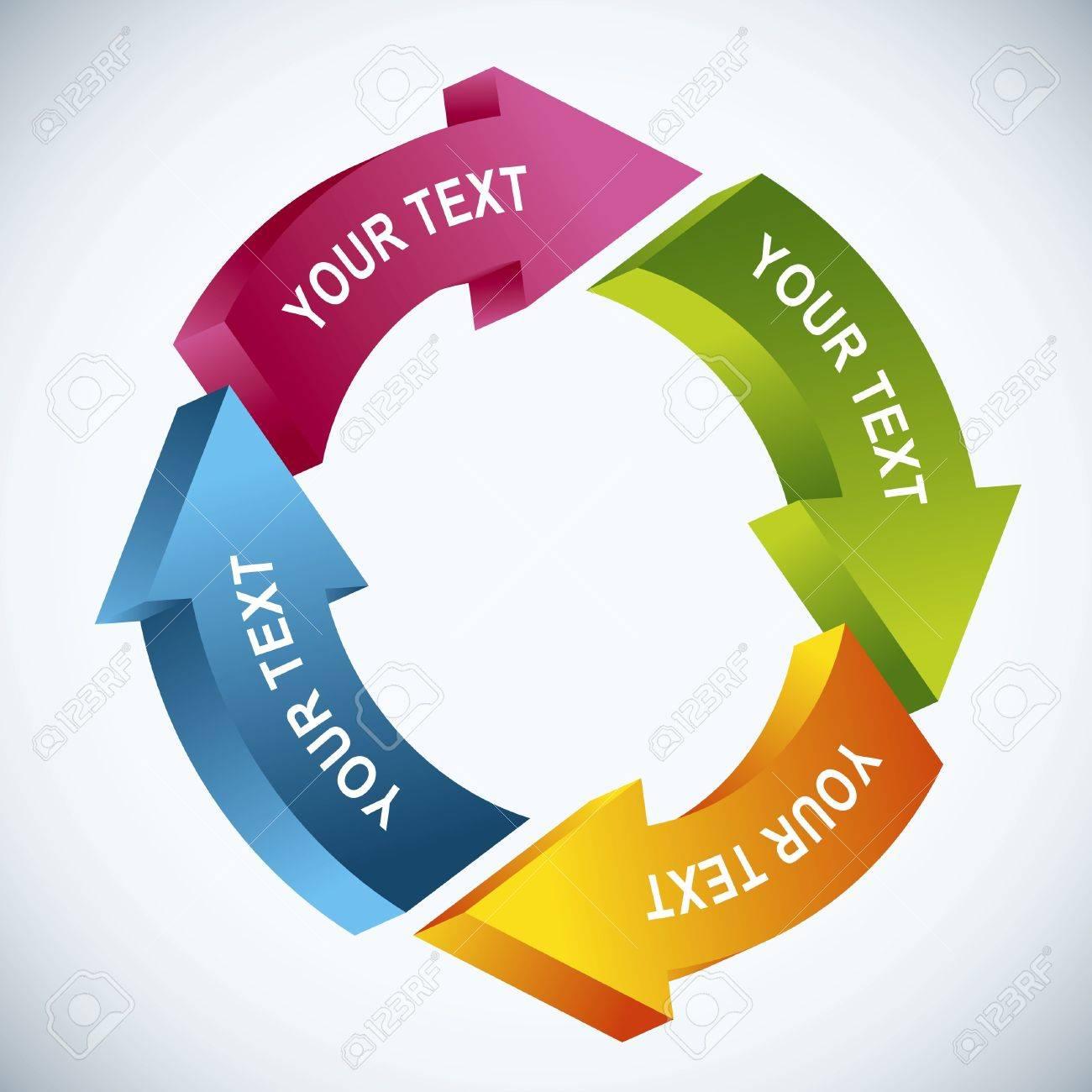 work flow chart Stock Vector - 13101817