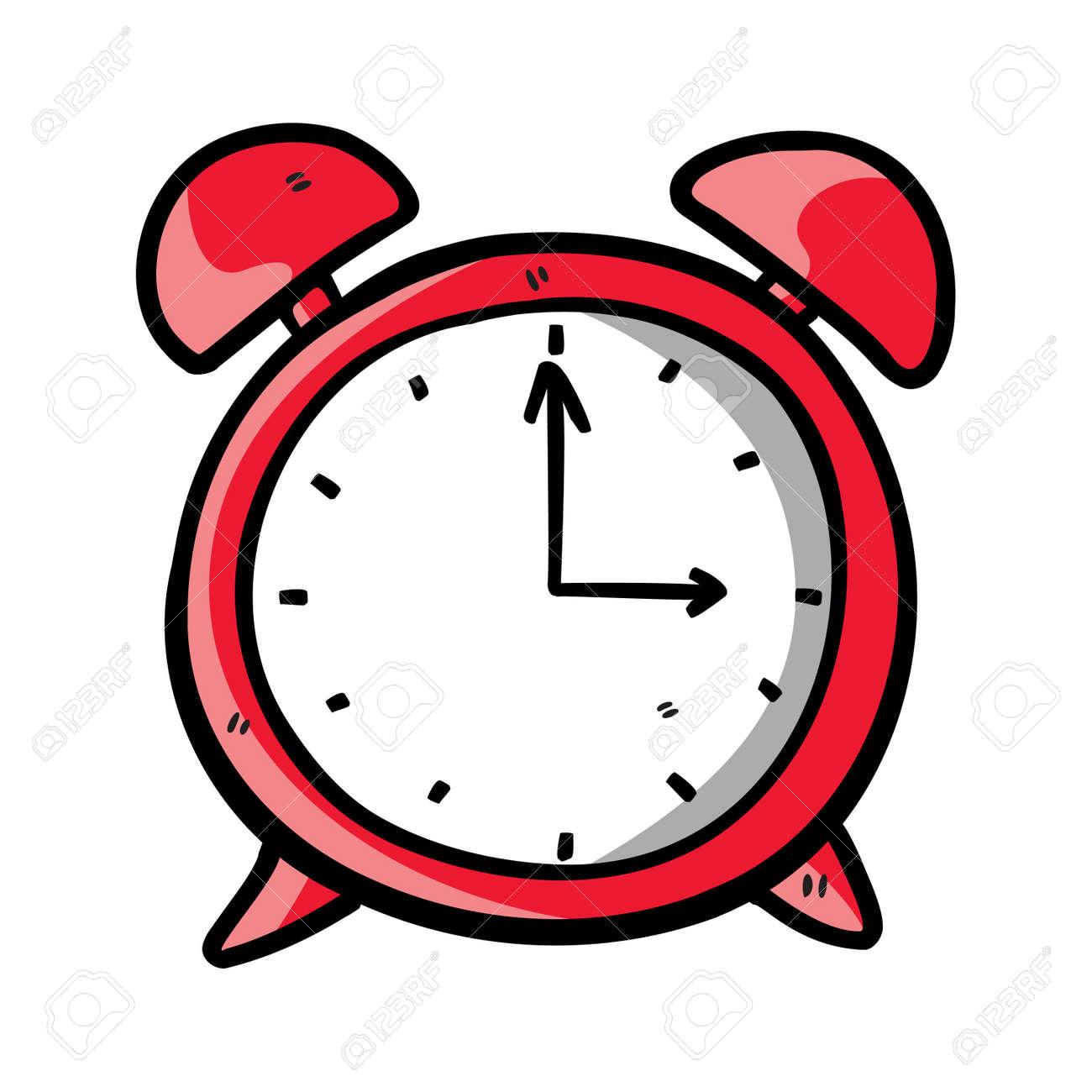 http://previews.123rf.com/images/hatza/hatza1204/hatza120400223/13194942-reloj-de-dibujo-de-color-rojo-Foto-de-archivo.jpg