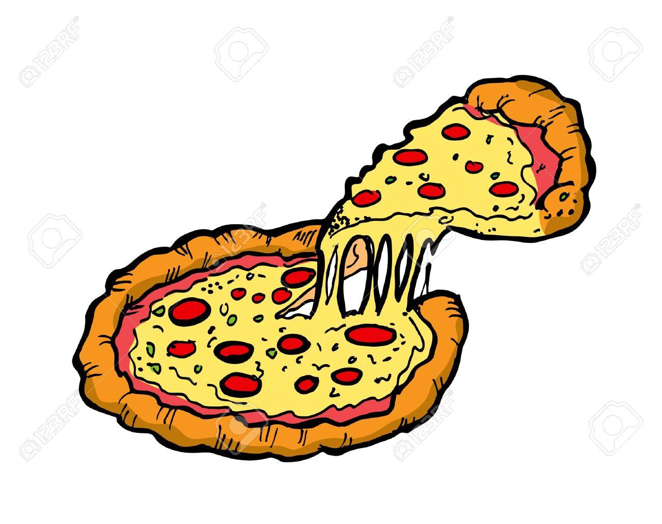 Resultado de imagen de pizza dibujo