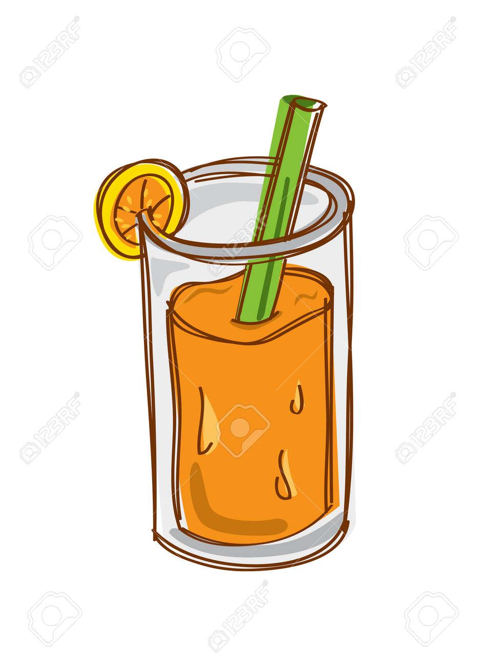 orange juice Stock Vector - 14783341
