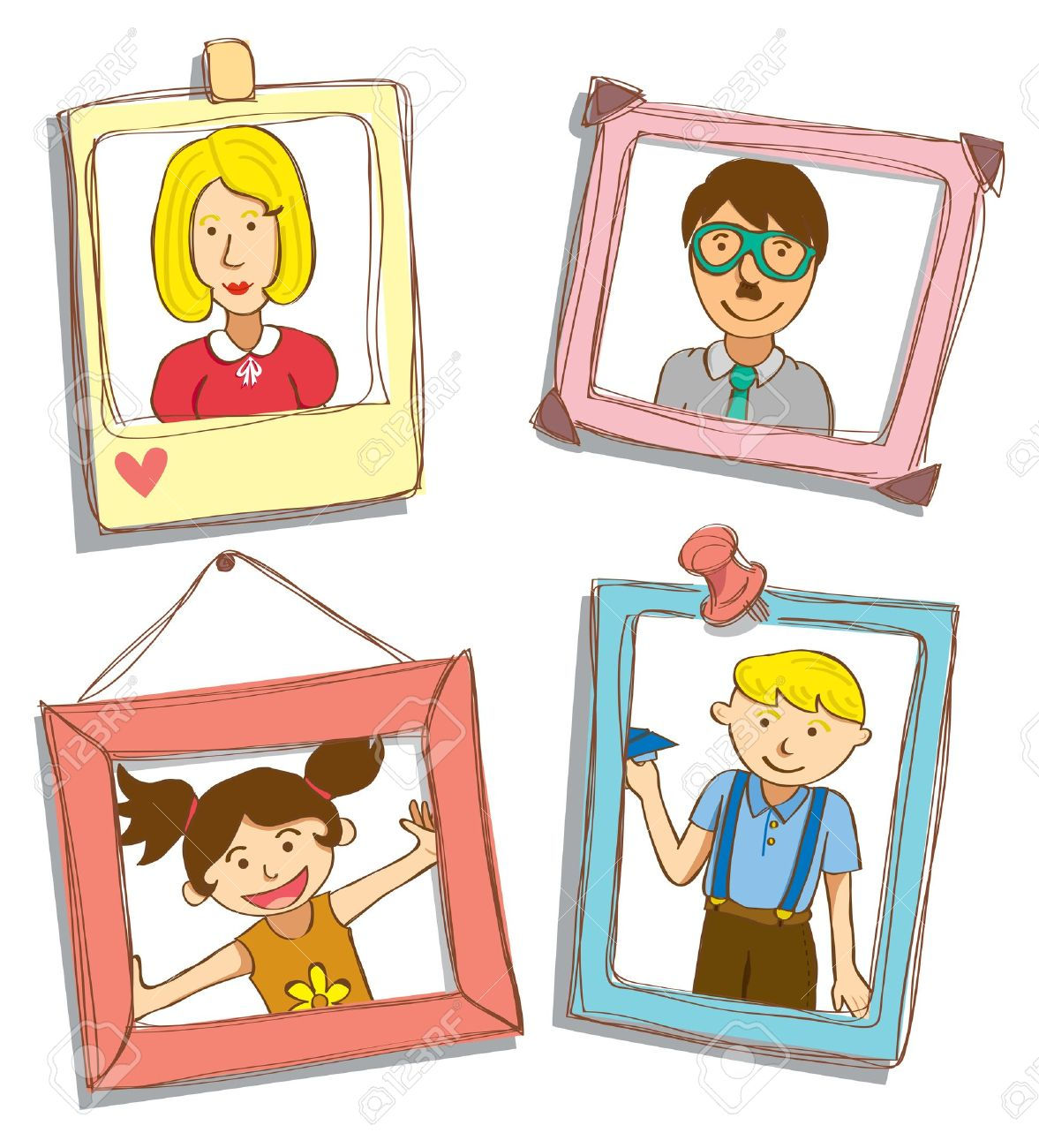 family portrait royalty free cliparts vectors and stock rh 123rf com photo clipart of the wise men photo clip art apps